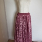 『ベリーダンス衣装 スカート裾カット、まっすぐではなくこんな特殊な形にも!』の画像