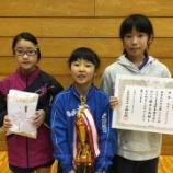 『第27回くりこま高原卓球大会 結果【仙台ジュニア】』の画像