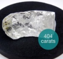 【画像あり】404カラットの巨大ダイヤ、発見される
