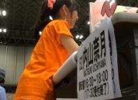 【AKB48】内山奈月、最後の握手会の様子をご覧ください【動画】