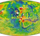 火星の重力マップ公開、驚きの新事実が明るみに