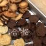 お茶菓子にうさぎクッキー
