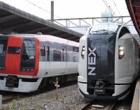 『E259系 新型成田エクスプレス試乗会&今日からアメリカへ!』の画像