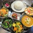 インネパ&アジア料理新店「マエラズキッチン」(東日本橋)で「ネパール定食」