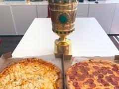 バイエルンとインテルでピザ論争!