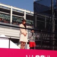 中川翔子 名古屋国際ウィメンズマラソンで国歌斉唱!! アイドルファンマスター