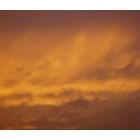 『燃える夕空』の画像