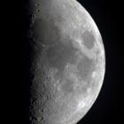『月齢7.3のお月様』の画像