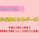 『【予想/買い目】日本ダービー_2020。』の画像