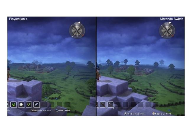 【ドラクエビルダーズ】PS4 vs Switchの比較動画公開!グラフィックはそこまで差は無し