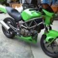 VTR250(バイクの) 自家塗装(オールペン、全塗装) 方法  その後