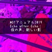 時間について考える。『MOTアニュアル2019 Echo after Echo:仮の声、新しい影』