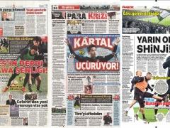 【 画像 】香川真司、トルコのスポーツ紙の見出しを飾る!!