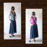 ファッション*リネン混のワイドパンツが軽やかで、これからの季節にピッタリ!
