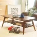 レトロ感が魅力のローテーブルは折り畳みOK■サイズ…