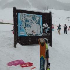 ほおのき平スキー場でスキー【2017】