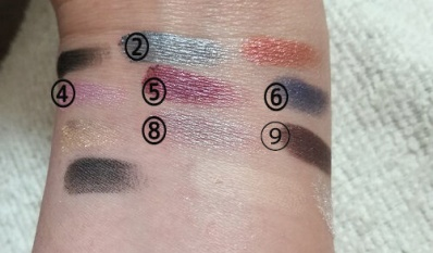 IBY Beauty, Eyeshadow Palette, Hollywood Glam 一重