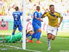 【 速報動画 】 <ナイジェリア×コロンビア> グティエレスのゴールでコロンビアが先制!1-0!