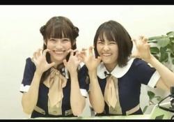 ちょ、可愛すぎかwww 掛橋沙耶香×清宮レイ「がお~!!!」