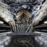 【画像】ストックホルムのアートな地下鉄駅をあげていくやで~