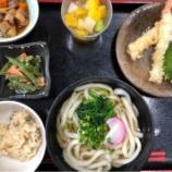 『今日の桜町昼食(えび天うどん)』の画像