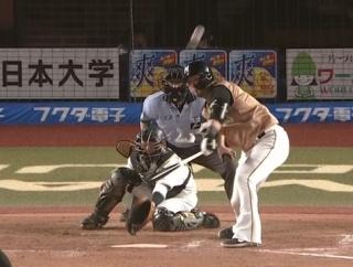 【速報】日ハム3回に中田翔の犠牲フライで1点先制