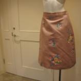 『KEITA MARUYAMA(ケイタマルヤマ)フラワーモチーフゴブランスカート』の画像