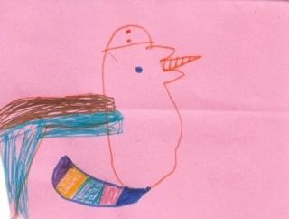 5歳児のお絵かき事情