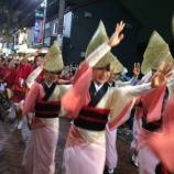 『(番外編)東京杉並・高円寺阿波踊りを観に行きました』の画像