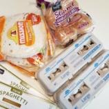 『今週の食料購入品(9/22~9/28)』の画像