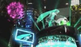 【日本の技術】   初音ミクが 巨大ビルの上に 表れる!? 拡張現実技術で、ヴァーチャル世界が携帯に登場!   海外の反応