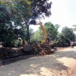 『2011.11.10 デ・クロホーム村の道路工事はじまる』の画像