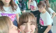 【動画】衛藤美彩先輩(26)、井上さゆにゃん(24)のほっぺに思わずチューしてしまうwwwwwwwww