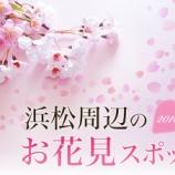 『開花宣言きた!浜松周辺のお花見スポットまとめ - 2016年春』の画像