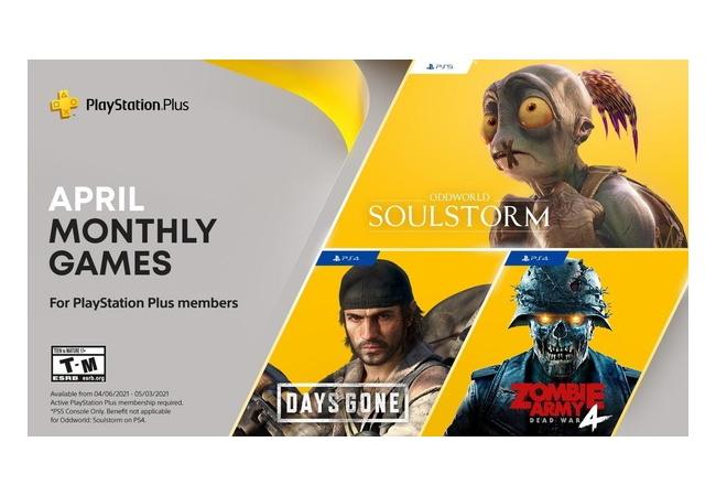 【リーク】PS+4月のフリプ 「DaysGone/ゾンビアーミー4/Oddworld」と噂