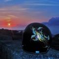 ライダーさんのヘルメット