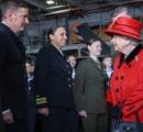 遂に来た!英国の最新鋭空母「クイーン・エリザベス」初来日