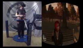 【ゲーム】  GTA を ヴァーチャルリアルティ(仮装体験)装置 でプレイできる映像が めちゃくちゃ疲れそうで ワロタ。  海外の反応