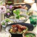 【レシピ】たっぷり春キャベツと一緒に食べるヤンニョムチキン。と 献立。と バス停からウチまで。