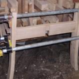 『樽の家具つくり・3』の画像