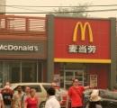 中国のマクドナルドがホームレスの寝所になっている