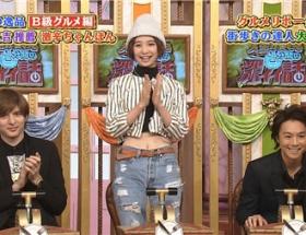 篠田麻里子「深イイ話」のファッションがヤバイwwww