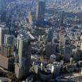 森トラストによる地上43階、高さ210m「(仮称)赤坂二丁目プロジェクト」の建設状況(2021.1.10)