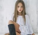 【画像】「世界一の美少女」クリスティーナ・ビメノヴァ…ロシアの9歳の少女、世界的な知名度を誇るスーパーモデルに