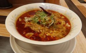 スープが刺激的なマーラー麺を実食