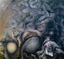 NASA「美しい」木星の渦公開 探査機が撮影