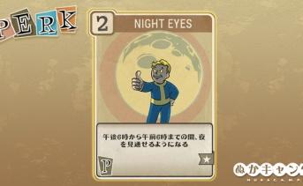Fallout 76:Night Eyes(Perception)