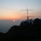 『2011年 7月29~31日 430MHz全国伝搬通信実験参加:弘前市・岩木山8合目』の画像
