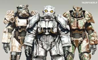 Camouflage Power Armor Paintjobs