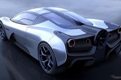 ゴードン・マレーの新型車がヤバい! 直径400mmの「ファン」装着